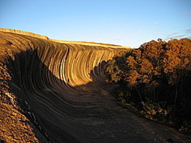 Qld Wave Rock at Wot...